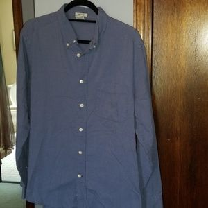 Mens blue Old Navy button down